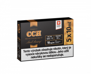 JustVape CCH BOOSTER 18mg - 5x10ml 100%VG
