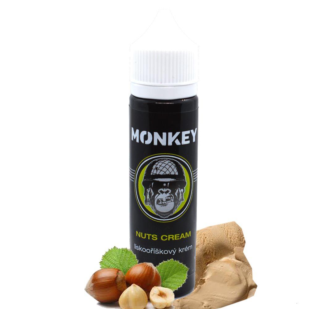 NUTS CREAM - Lískooříškový krém - Monkey shake&vape 12ml Monkey liquid s.r.o.
